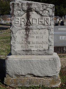 Dr D W Braden