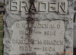 Caroline M <i>Howden</i> Braden