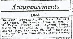Edward Arthur Barton