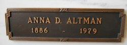 Anna D Altman