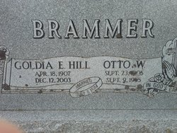 Goldia E. <i>Hill</i> Brammer