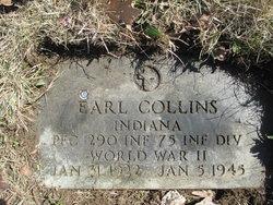 Pfc Earl Collins