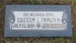Odessa Irene <i>Chapman</i> Frazier