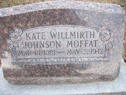Kate Willmirth <i>Johnson</i> Moffat
