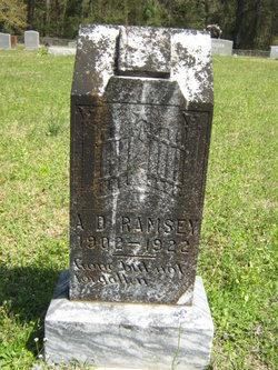 Arthur Dai Dewey Ramsey