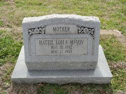 Hattie Loila <i>Davis</i> McVoy