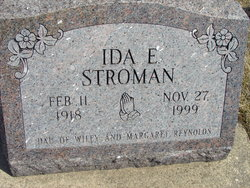 Ida E <i>Reynolds Carlson</i> Stroman