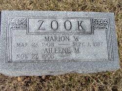 Aileene M <i>Montgomery</i> Zook