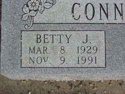 Betty Jane <i>Koch</i> Connelly
