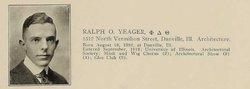 Ralph Oscar Yeager