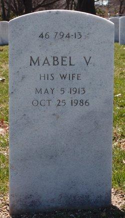 Mabel V Yancey