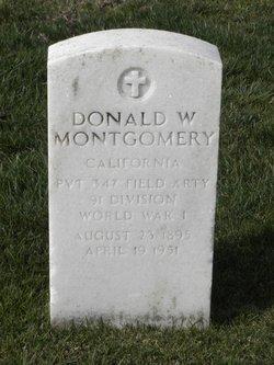 Donald W Montgomery