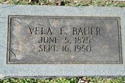 Vela Estell <i>McMurry</i> Bauer