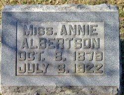 Annie Albertson