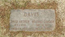 Mildred <i>Gordon</i> Davis
