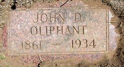 John D. Oliphant
