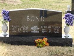 Beulah <i>Sloan</i> Bond