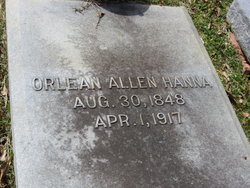 Orlean <i>Allen</i> Hanna