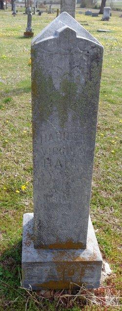 Harriett Virginia <i>Allison</i> Harp