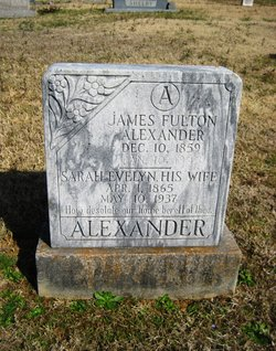 Sarah Evelyn <i>Alexander</i> Alexander