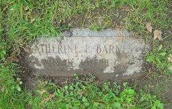 Katherine E <i>Reed</i> Barnes