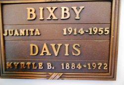 Juanita <i>Davis</i> Bixby