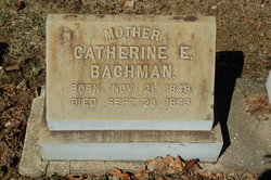Catherine E. <i>Brinker</i> Bachman