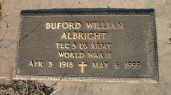 Buford W Albright