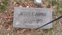 Betty Frances Adams