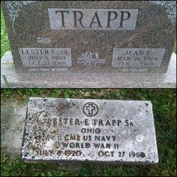 Lester E Trapp, Sr