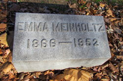 Emma <i>Paust</i> Meinholtz