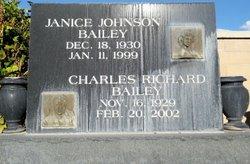 Janice <i>Johnson</i> Bailey