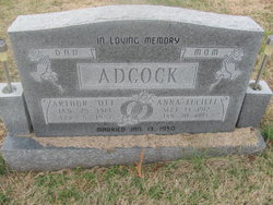 Anna Lucille <i>Vincent</i> Adcock