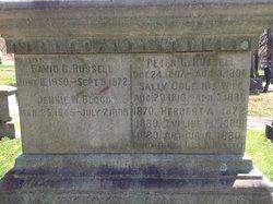 Jennie W. <i>Russell</i> Blood