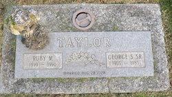 Ruby Mae <i>Etzwiler</i> Taylor