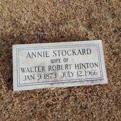 Annie <i>Stockard</i> Hinton