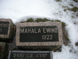 Mahala <i>Braden</i> Ewing