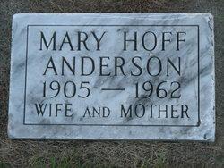 Mary G. <i>Hoff</i> Anderson