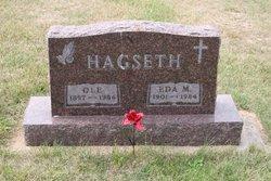 Edna Marie <i>Olson</i> Hagseth