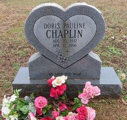 Doris Pauline <i>Ridgely</i> Chaplin
