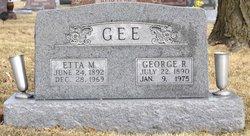 Etta May <i>Harris</i> Gee