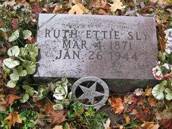 Ruth Ettie <i>Mowers</i> Sly