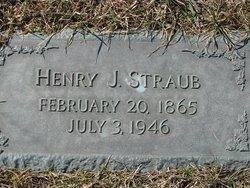 Henry J Straub