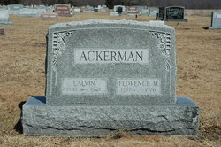 Florence Mae <i>Ross</i> Ackerman