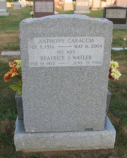 Beatrice I. <i>Watler</i> Caraccia