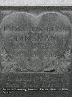 Emma Clarissa <i>Chesser</i> Dingman