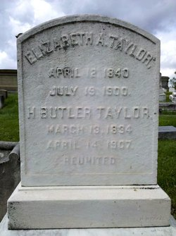 Elizabeth A. <i>Horn</i> Taylor