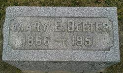 Mary E. <i>Patty</i> Deeter