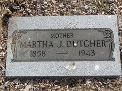 Martha Jane <i>Proctor</i> Dutcher