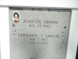 Geraldine Theresa <i>Griffin</i> Berthelot